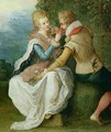 Two Lovers in a Garden - Frans the younger Francken