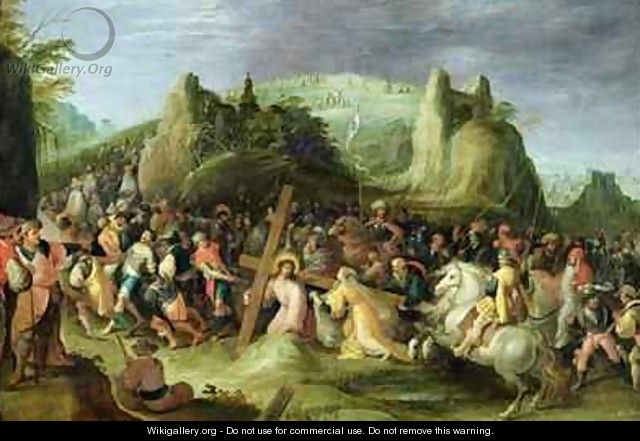 Christ on the Road to Calvary - Frans the younger Francken