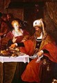 Herod and Herodias at the Feast of Herod - Frans I Francken
