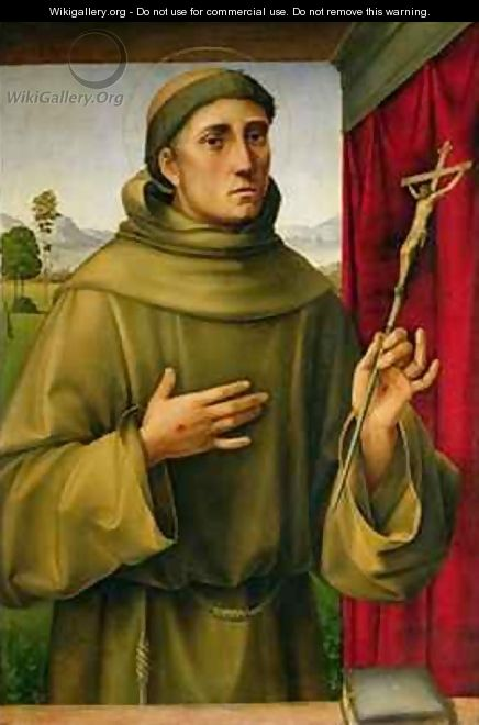 St Francis of Assissi - Francesco Francia