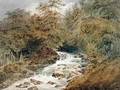 A Mountain Stream - Francois Louis Thomas Francia