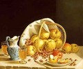 Still Life with Yellow Apples - John Francis