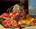Still Life with Fruit - John F Francis