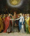 Betrothal of the Virgin - Ambrosius II Francken or Franck