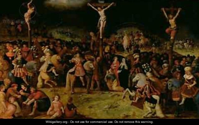 The Crucifixion - Frans the younger Francken