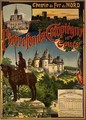 Reproduction of a Poster Advertising Northern Railway Excursions to Pierrefonds Compiegne and Coucy - Georges Fraipont