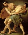 Two Wrestlers - Cesare Francazano