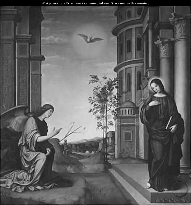 The Annunciation - Francesco Francia