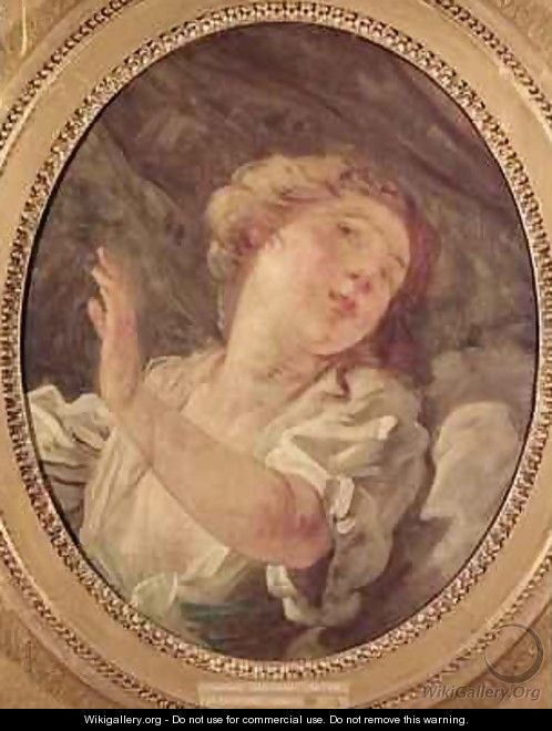 Young Woman Turning Away or La Resistance - Jean-Honore Fragonard