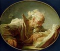 A Philosopher - Jean-Honore Fragonard