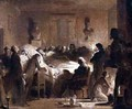 The Last Moments of Charles Ferdinand of France 1778-1820 in the Administration Room of the Paris Opera House - Alexandre Evariste Fragonard
