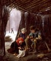 The Woodcutters Meal - Edouard Frère