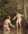 Bathing Boys - Edouard Frère