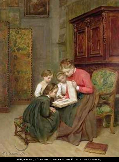 The Family Album - Charles Edouard Frere