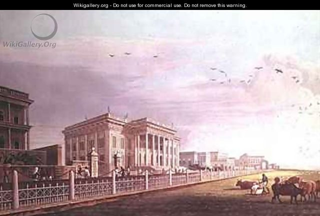 Town Hall Calcutta - (after) Fraser, James Baillie