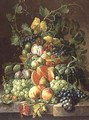 Basket of Fruit - Johannes Hendrick Fredriks