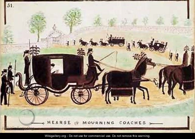 Hearse and Mourning Coaches - William Francis Freelove