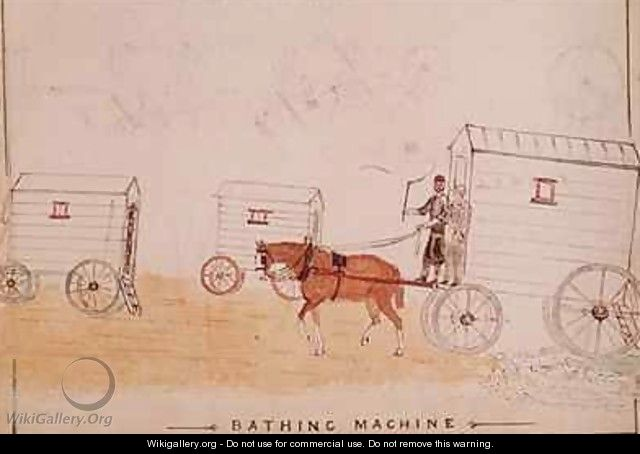 The Bathing Machine - William Francis Freelove