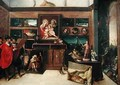 The Amateurs Exhibition Room - Hieronymus II Francken