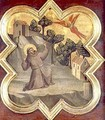 St Francis Receiving the Stigmata - Taddeo Gaddi