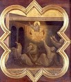 The Apparition of St Francis in the Chariot of Fire - Taddeo Gaddi