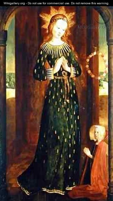 Virgin with the Ears of Corn - Hinrik Funhof