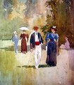 A Walk in the Park - Albert Henry Fullwood