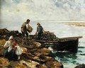 Loading Lobster Pots - David Fulton