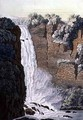 Tequendama Waterfall on the Bogota river Colombia - Gerolamo Fumagalli