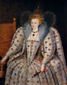 Portrait of Queen Elisabeth I - Marcus The Younger Gheeraerts