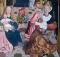 The Holy Kinship (detail) 2 - Tot Sint Jans Geertgen