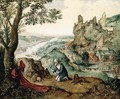 Landscape with the Penitent St Jerome 2 - Lucas Gassel
