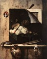 Still-Life with Self-Portrait - Cornelis Gijsbrechts