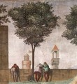 Visitation (detail) 4 - Domenico Ghirlandaio