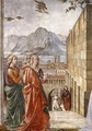 Visitation (detail) 2 - Domenico Ghirlandaio