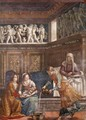 Birth of Mary (detail) - Domenico Ghirlandaio