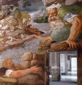 Fresco on the south wall (detail) 2 - Giulio Romano (Orbetto)