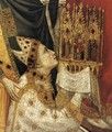 The Stefaneschi Triptych St Peter Enthroned (detail) - Giotto Di Bondone