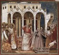 No. 27 Scenes from the Life of Christ 11. Expulsion of the Money-changers from - Giotto Di Bondone
