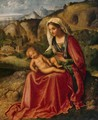 Virgin and Child in a Landscape - Giorgio da Castelfranco Veneto (See: Giorgione)