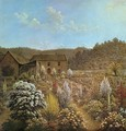 The Artist's House and Garden - John Glover