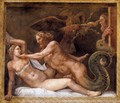 Jupiter Seducing Olympias - Giulio Romano (Orbetto)