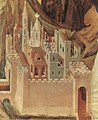 Temptation on the Mount (detail) - Duccio Di Buoninsegna