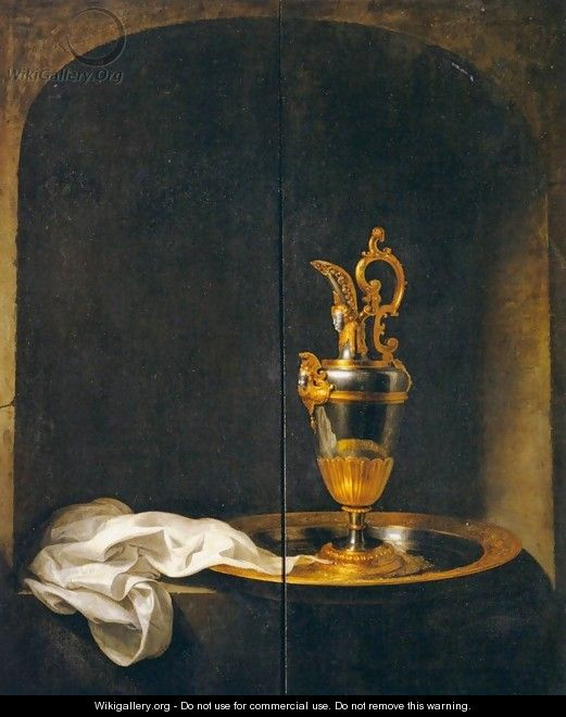 The Silver Ewer - Gerrit Dou