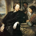 George Gage with Two Men - Sir Anthony Van Dyck