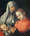 St Anne with the Virgin and Child - Albrecht Durer