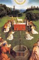 The Ghent Altarpiece Adoration of the Lamb (detail) 3 - Jan Van Eyck