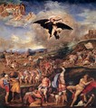 The Battle of Montemurlo and the Rape of Ganymede - Battista Franco