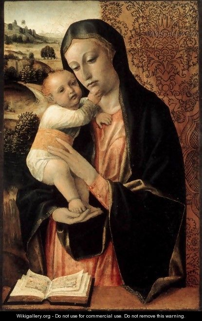 Virgin and Child 2 - Vincenzo Foppa