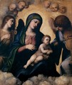 Madonna and Child in Glory - Correggio (Antonio Allegri)
